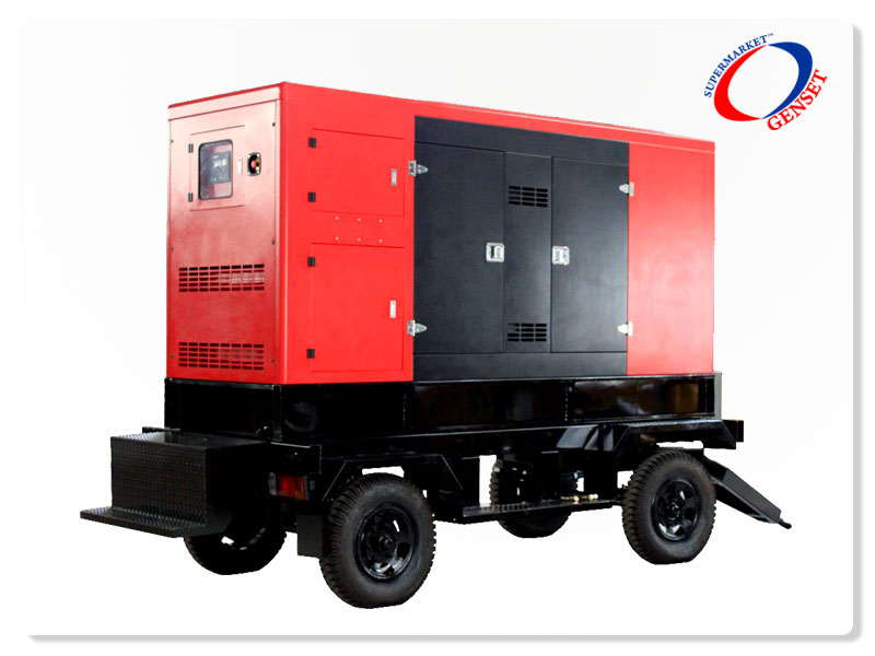 Genset Mobile Type